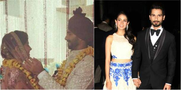 Memorable pictures from Shahid Kapoor and Mira's wedding