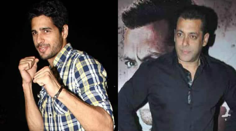 Salman Khan, Sidharth MAlhotra