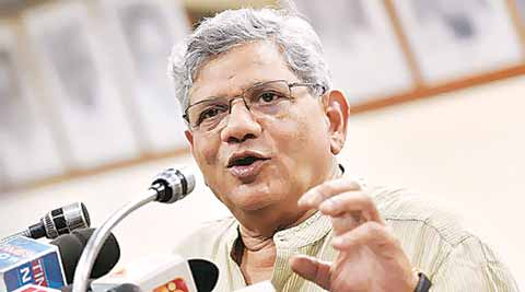 land bill, land bill ordinances, CPM, NDA government, land bill amendment, Sitaram Yechury, india news, nation news