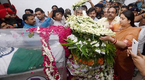 Abdul Kalam's mortal remains arrive in his hometown Rameswaram