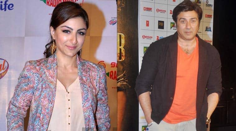 sunny deol, soha ali khan, actor sunny deol, actress soha ali khan, sunny deol movies, soha ali khan movies, entertainment news