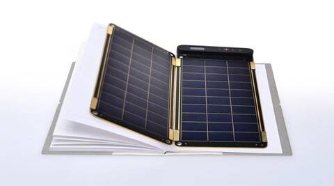 Meet Solar Paper: A smartphone charger as thin as paper