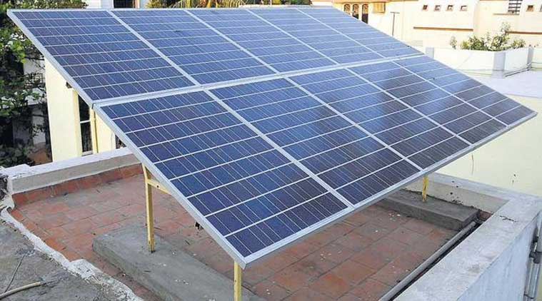 Solar Power Sunny Side Down The Indian Express