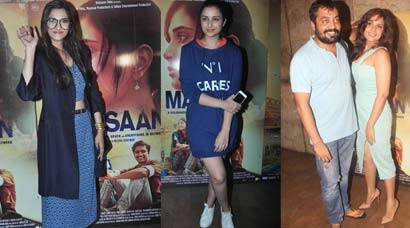 Masaan screening, Richa Chadha, Sonam Kapoor, Parineeti Chopra, Masaan Screening photos, Yami Gautam, Shweta Tripathi