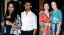 Richa Chadda, Divya Dutta at Sonu Nigam's birthday bash