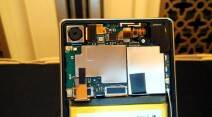 Sony Xperia Z3 Plus inside