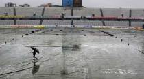 Heavy downpour wipes out second day's play in Dhaka