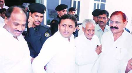 samajwadi party, land acquisition, farmers, Panchayat elections, lucknow news, city news, local news, UP news, Indian Express
