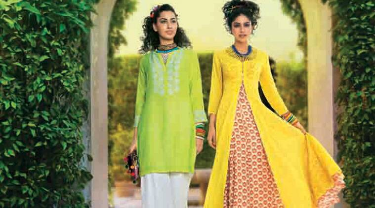 Switch to colourful kurtis with different bottom wear instead of just sticking to the usual salwars. (Source: Ians)