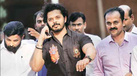 S Sreesanth, S Sreesanth IPL spot fixing, MCOCA, S Sreesanth fixing, S Sreesanth ipl fixing, fixing IPL, ipl spot fixing S Sreesanth, S Sreesanth India, India S Sreesanth, S Sreesanth India, Cricket News, Cricket