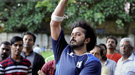 After getting clean-chit, S Sreesanth returns to training