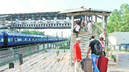 Security checks a farce? At Chandigarh railway station, entry is'free'