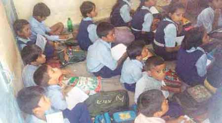 At SSA training centres, no benches for students, often noshelter
