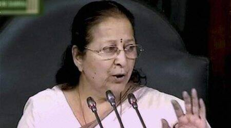 Sumitra Mahajan, BRICS, brics, sustainable development, sustainable development goals, SDG, sdg, mahajan, women parliamentarian forum, women parliamentarain, environment sustainability, india news, BRICS news, brics news