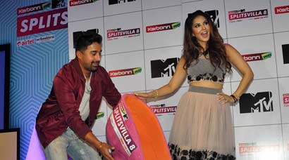 Sunny Leone adds oomph to 'MTV Splitsvilla' launch event