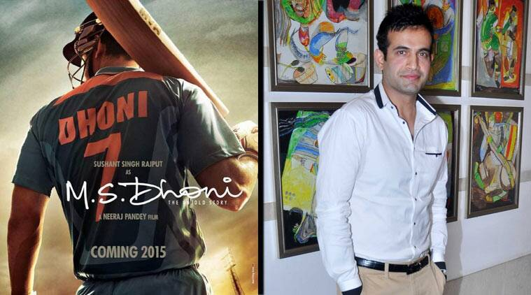 ms dhoni biopic, sushant singh rajput, Irfan Pathan, Irfan Pathan jhalak dikhla jaa, dhoni biopic sushant, sushant singh rajput movies, sushant singh rajput upcoming movies, entertainment news, mahendra singh dhoni movie