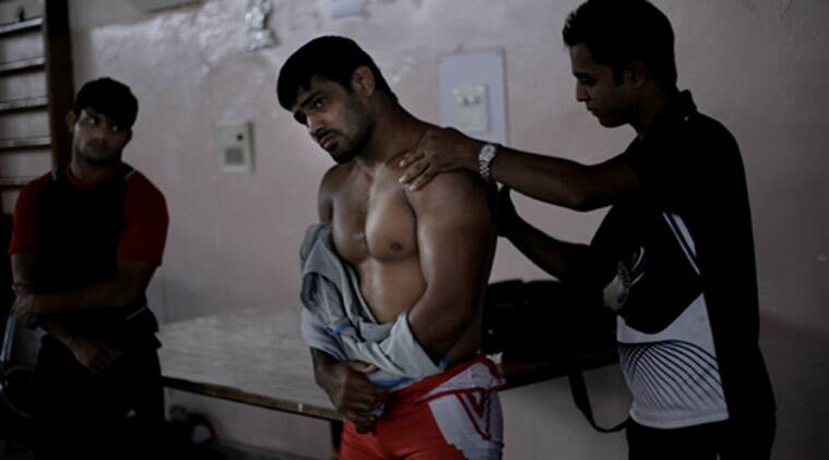 Sushil Kumar's name is missing from the list of players that are to attend the Rio Olympics preparatory camp in Sonipat from Wednesday. (Source: Express file)
