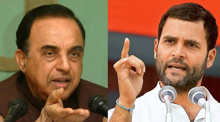 Subramanian swamy, rahul gandhi, swamy defamation, swamy defamation case, rahul gandhi defamation, criminal defamation case, india news, SC defamation case