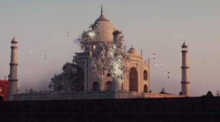 Chris Columbus on featuring Taj Mahal in 'Pixels' movie