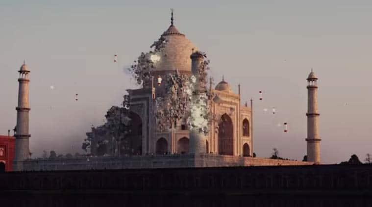 Pixels, Pixels movie, Taj Mahal Pixles