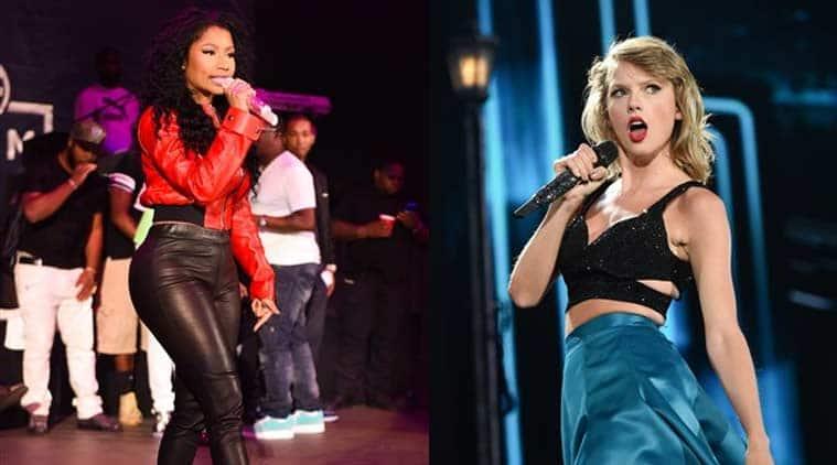 Taylor Swift, Nicki Minaj, MTV VMAs, Swift Minaj Twitter spat