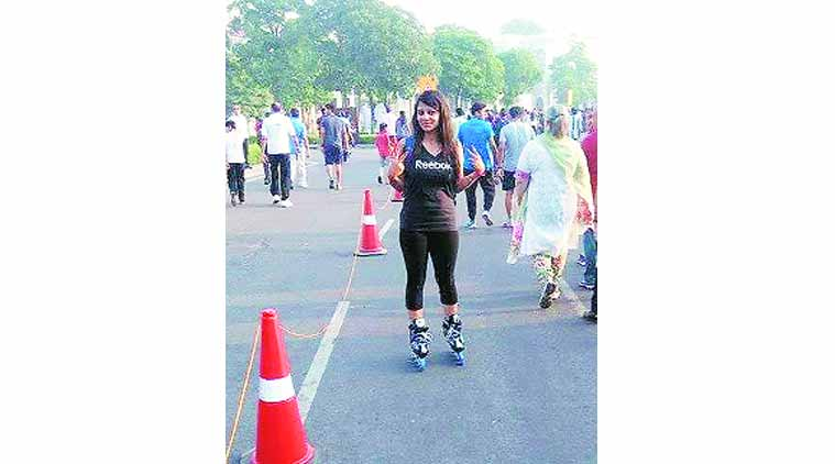 skating, pune skating girl, pune news, city news, locla news, pune newsline, Indian Express
