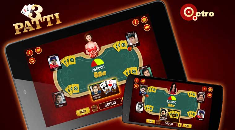 Teen Patti, Octro Inc.,Octro Inc., Teen Patti Android game, Teen Patti Google PLay Store, Top five Indian games on Android, Indian Games on Android, Technology, technology news