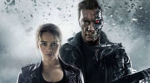 terminator, Terminator Genisys, Terminator Genisys review, Terminator Genisys movie review, Terminator Genisys cast, Terminator Genisys rating, Terminator Genisys stars, Arnold Schwarzenegger Terminator Genisys, Arnold Schwarzenegger, Jason Clarke, Emilia Clarke, Jai Courtney, J K Simmons, Alan Taylor, entertainment news, movie review, film review