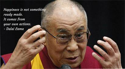 Six life lessons by Dalai Lama on his birthday
