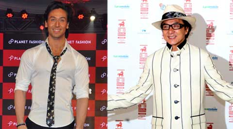 tiger shroff, jackie chan, kungfu yoga, actor tiger shroff, tiger shroff movies, tiger shroff jackie chan, tiger shroff kungfu yoga, actor jackie chan, entertainment news