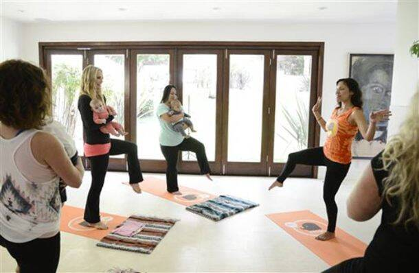 Baby & Me yoga class: A perfect fitness mantra for the new moms