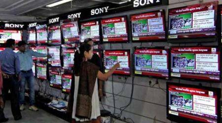 TRAI, Congress channels, Congress tv channels, Telecom Regulatory Authority of India, Veerappa Moily, india news, latest news