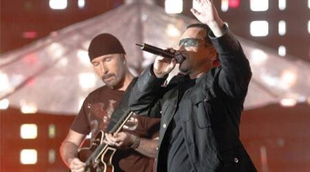 U2 revive old hit 'October For First Night' in New York