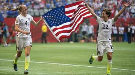 Women's World Cup final: US avenge 2011, defeat Japan 5-2 for title