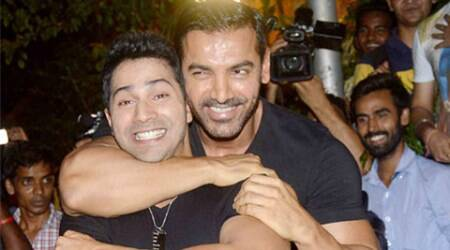 John Abraham, Varun Dhawan bond well on 'Dishoom' sets