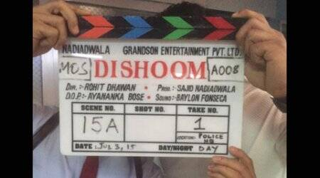 Varun Dhawan begins shooting for 'Dishoom' with John Abraham