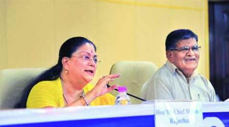 Vasundhara Raje, district collector, collector, politicians, social media, rajasthan, rajasthan raje, india news, news