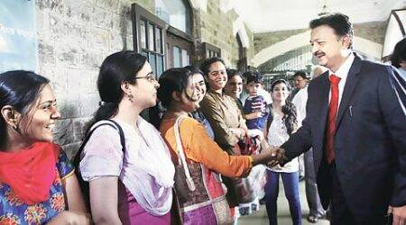 New Mumbai University V-C takes over:  On Day one, Sanjay Deshmukh speaks of Digital India, 'strong presence on social media'