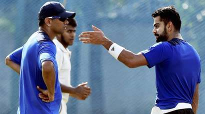 Kohli joins India 'A' in Chennai, sweats it out in the nets