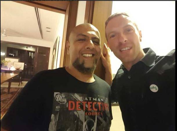 Vishal Dadlani, Chris Martin, Coldplay