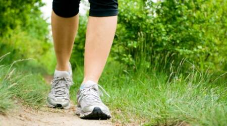 An extra two hours per day spent walking rather than sitting is associated with approximately 2 percent lower average fasting blood sugar levels and 11 percent lower average triglycerides. (Source: Thinkstock Images)