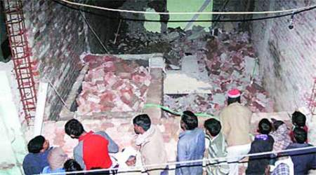 Three feared dead as hospital wall collapses in Delhi