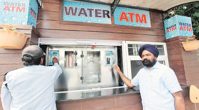 Ramandeep Singh, Water ATMs, Synergy Solar Inc, Water ATMs Tricity, Punjab government, WHO, Chandigarh news