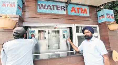 Water ATMs: Now put a coin, and get a litre of clean water in Mohali