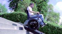 Now wheelchair that can climb stairs
