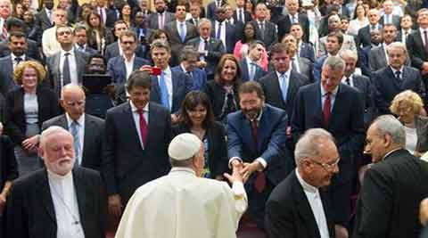World mayors at Vatican urge 'bold climate agreement'