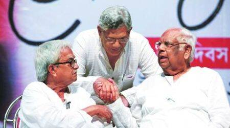 yechury, sitaram yechury, jyoti basu anniversary, jyoti basu, kolkata news, CPI. CPM, kolkata cpi, west bengal news, india news