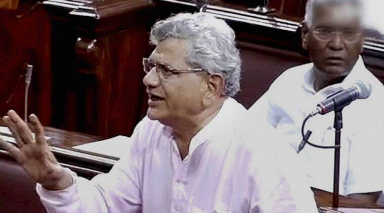 File photo of Sitaram Yechury. (Source: PTI)