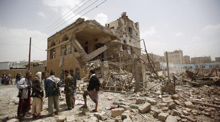 yemen, yemen airstrike, saudi, houthi, saudi led airstrike, saudi airstrikes yemen, houthi rebels, yemen rebels, yemen houthi, yemen news, saudi news, world news, indian express