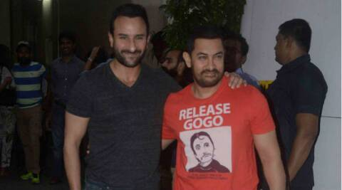 Aamir Khan still a fan of 'Andaz Apna Apna', wears t-shirt with Crime Master Gogo's face